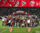 Sevilla campione Eur. League 15