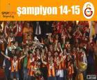 Galatasaray, campione 14-15