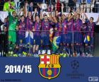 FC Barcellona, campione della UEFA Champions League 2014-2015