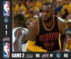 Finale NBA 2015, 2° partita