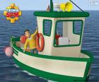 La barca di Charlie rifornisce ogni giorno il Wholefish Café con dell'ottimo pesce fresco