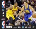 Finale NBA 2015, gara 6