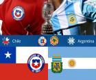 CHI - ARG finale Copa America15