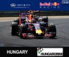 Daniil Kvyat - Red Bull - Gran Premio d'Ungheria 2015, secondo posto