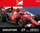 Räikkönen G.P Singapore 2015