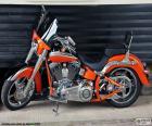 Harley Davidson arancione