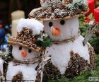 Belle pupazzi di neve