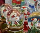 Palle di neve di vetro