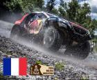 Stéphane Peterhansel e Jean Paul Cottret campioni nel automobili Dakar 2016, Stéphane Peterhansel è il pilota con più laureate della Dakar con dodici vittorie tra moto e auto
