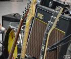 Chitarre e amplificatore