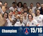 PSG campione del 2015-2016
