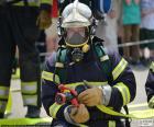 Formazione di vigile del fuoco