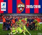 CSKA Mosca, campione 2015-2016