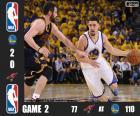 Finale NBA 2016, 2° partita