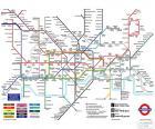 Mappa metropolitana di Londra