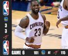 Finale NBA 2016, gara 6