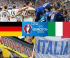 Germania vs Italia, quarti di finale Euro 2016