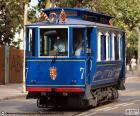 Tram Blau, Barcellona