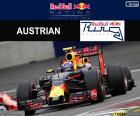 Verstappen, G.P d'Austria 2016