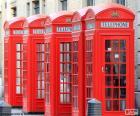 Cabine di telefono di Londra