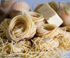 Pasta italiana, spaghetti