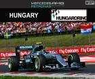 Nico Rosberg, secondo nel Gran Premio di Ungheria 2016 con la sua Red Bull