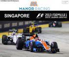 E. Ocon, GP di Singapore 2016
