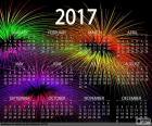 Calendario 2017, anno felice