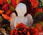 Angelo tra i fiori