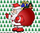 Babbo Natale, disegno