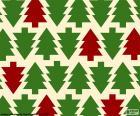 Sfondo di alberi di Natale