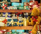 Rompicapo di Scaffali pieni di regali