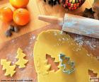 Preparare il biscotto di Natale