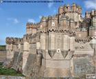 Castello di Coca, Spagna