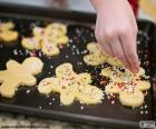 Preparazione biscotti Natale