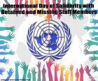 Giornata internazionale di solidarietà con i membri del personale trattenuti o mancante