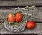 Un nido di Pasqua