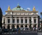 Opéra Garnier, facciata