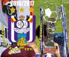 Anderlecht, campione 2016-2017