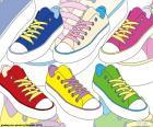 Scarpe da ginnastica di colori