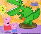 Peppa Pig e il dinosauro