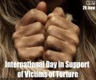Giornata internazionale a sostegno delle vittime di tortura