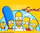 L'intera famiglia Simpson