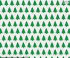 Carta alberi di Natale