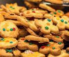 Biscotti decorati, Natale