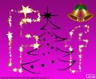 Lettera F di Natale