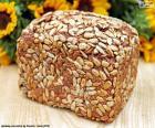 Pane di semi di girasole