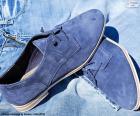Scarpe uomo blue