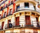 Facciata edificio di Madrid
