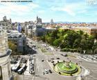 Vista di Madrid, Alcalá-Gran Vía